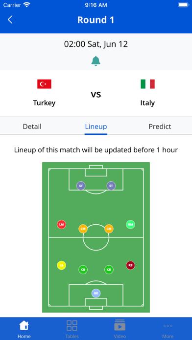 Euro Football App screenshot 6