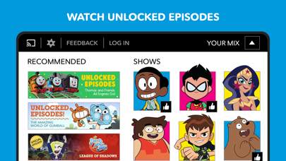 Cartoon Network phone App screenshot 3