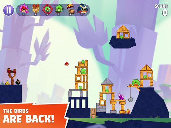 Angry Birds Reloaded screenshot 6