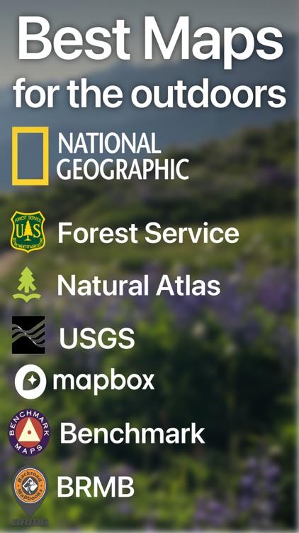 Topo Maps+