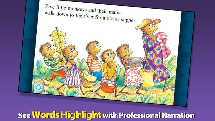 5 Monkeys Sitting in a Tree
