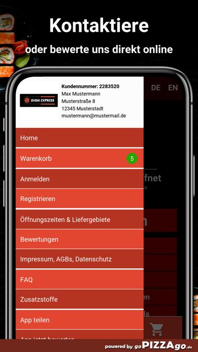 Sushi Express-Mönchengladbach screenshot 3
