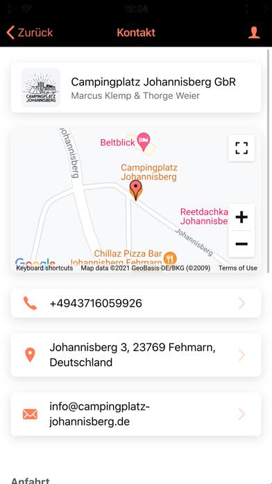 Campingplatz Johannisberg screenshot 2