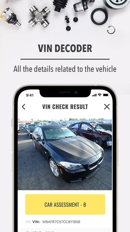 VIN auto checker