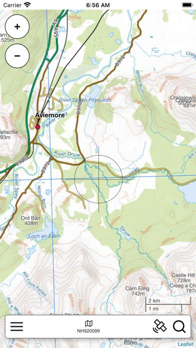 The Cairngorms Outdoor Map screenshot 3