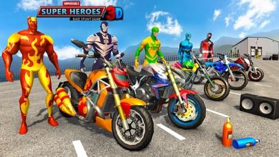 スーパーヒーローGTバイクレーシングスタント紹介画像1