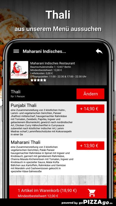 Maharani Berlin screenshot 5