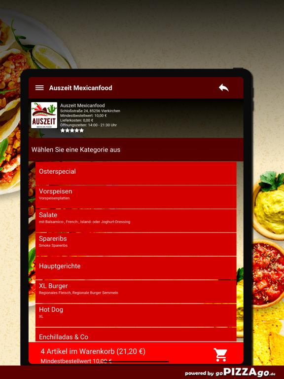 Auszeit Mexicanfood Vierkirche screenshot 7