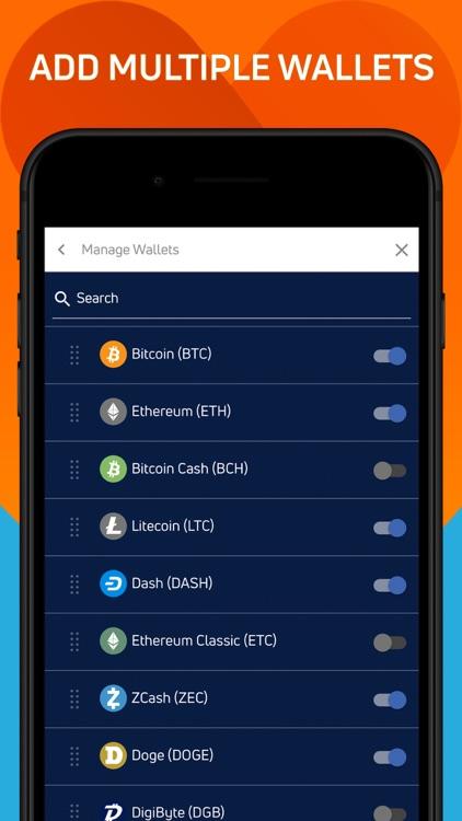 Jaxx Liberty Crypto Wallet screenshot-5
