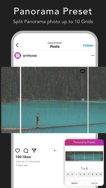Griddy: Split Photo Grids Post screenshot-3