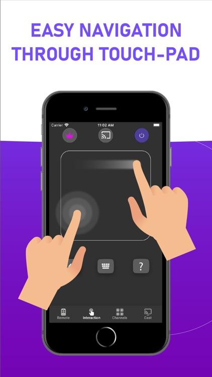 Remote Control for Roku TV Rok screenshot-4