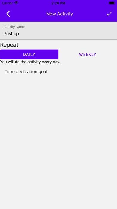 daily routine oneلقطة شاشة6