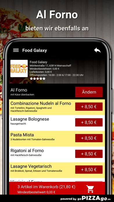 Food-Galaxy Mainaschaff screenshot 6
