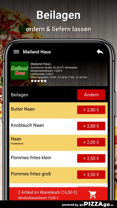 Mailand Haus Wiesbaden screenshot 6