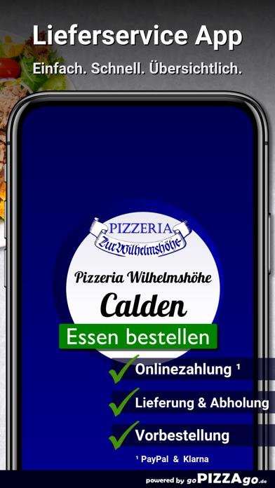 Pizzeria Wilhelmshöhe Calden screenshot 1