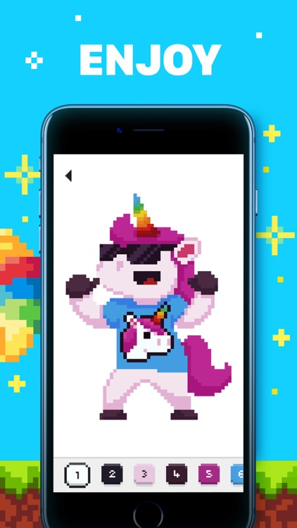 UNICORN: Color by Number Games