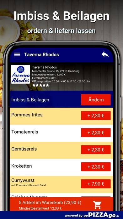 Taverna Rhodos Hamburg screenshot 6