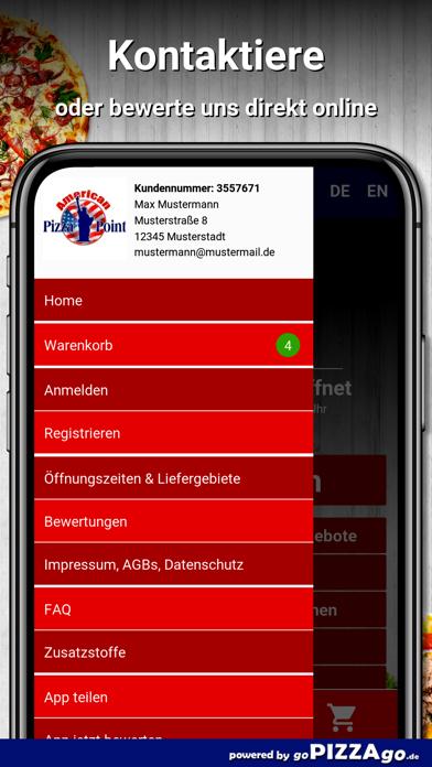American Pizza Point Mülheim screenshot 3