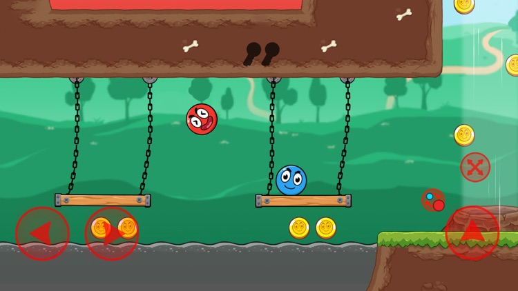 Red and Blue Ball screenshot-4