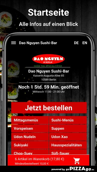 Dao Nguyen Sushi-Bar Berlin screenshot 4