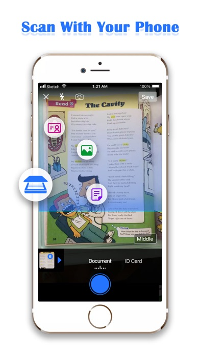 Smart Scanner: PDF Scanner Pro屏幕截图1