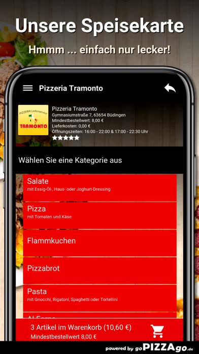 Pizzeria Tramonto Büdingen screenshot 4