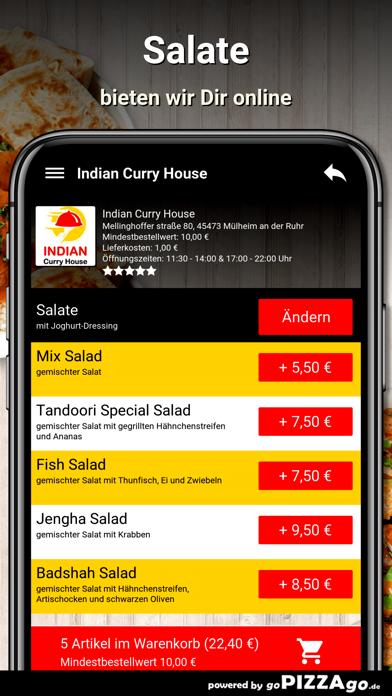 Indian Curry House Mülheim screenshot 5