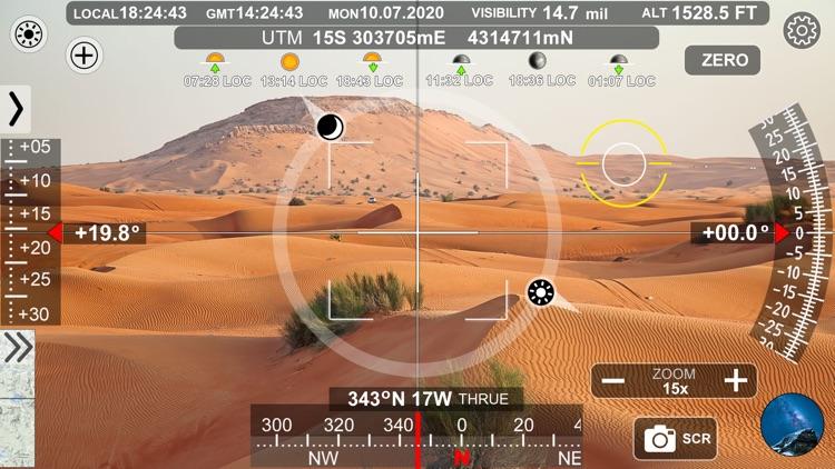 Geo Camera Viewfinder