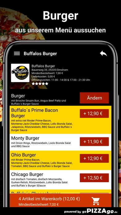 Buffalos Burger Elmshorn screenshot 5