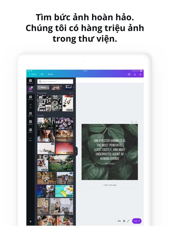 Canva: Thiết kế, ảnh và video