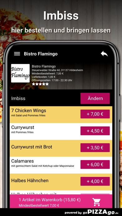 Bistro Flamingo Hildesheim screenshot 6