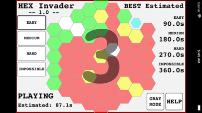Hexagon Invader screenshot 3