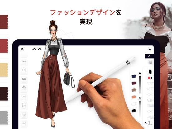 ファッション・デザイナー・スケッチのおすすめ画像1
