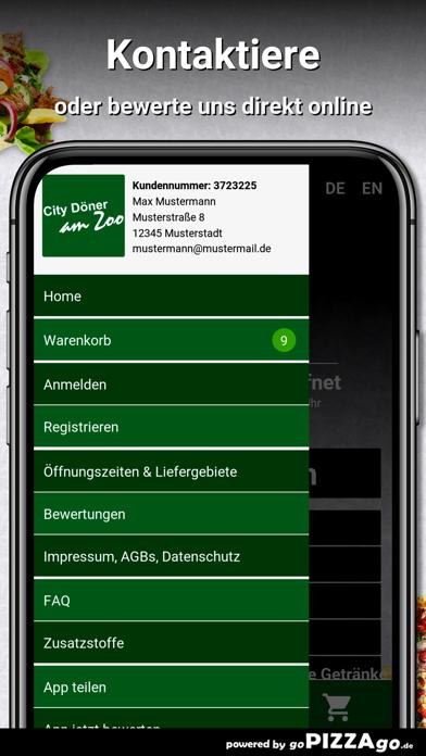 City Döner am Zoo Hannover screenshot 3