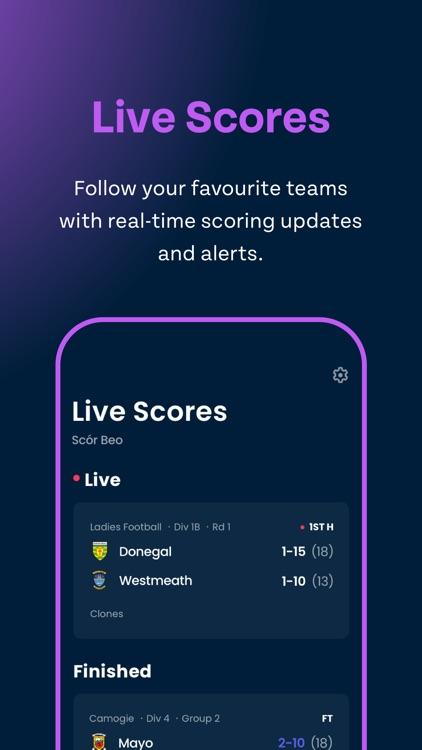 Gaelsport - Live Scores & News screenshot-3