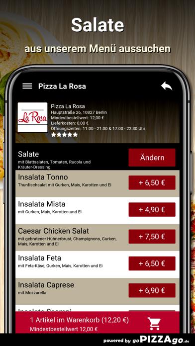Pizza La Rosa Berlin screenshot 5