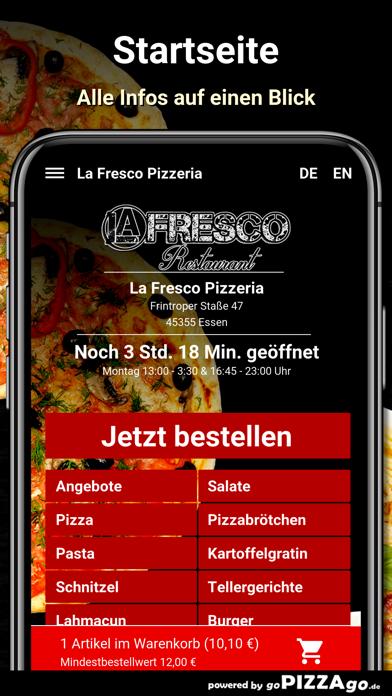 La Fresco Pizzeria Essen screenshot 2