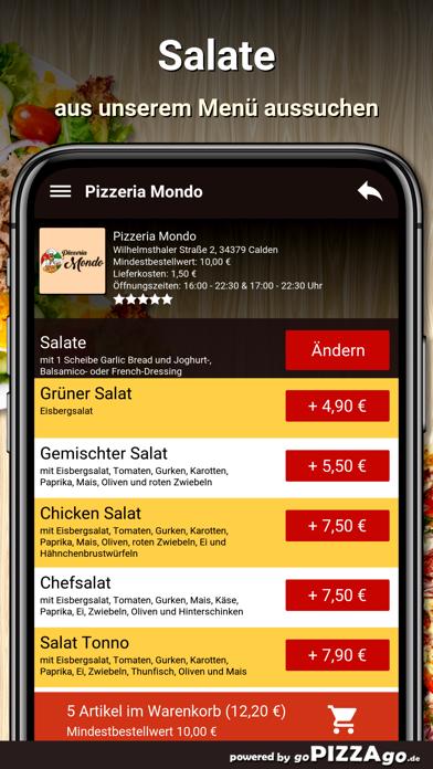Pizzeria Mondo Calden screenshot 6