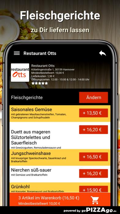 Restaurant Otts Hannover screenshot 5