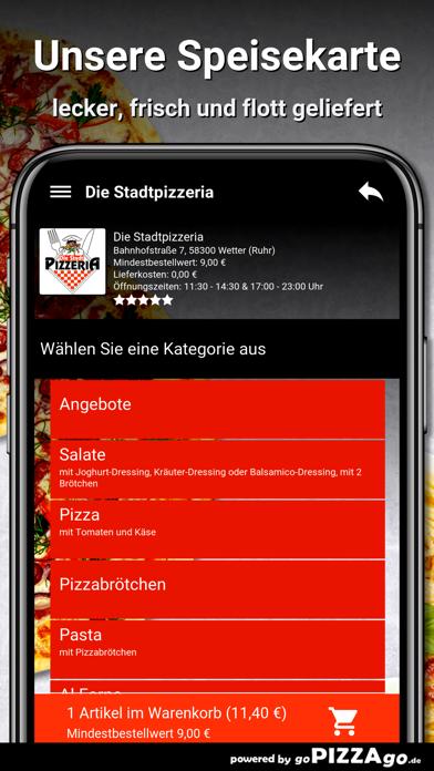 Stadtpizzeria Wetter (Ruhr) screenshot 4