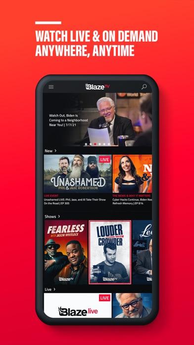 Descargar BlazeTV: Pro-America para Android