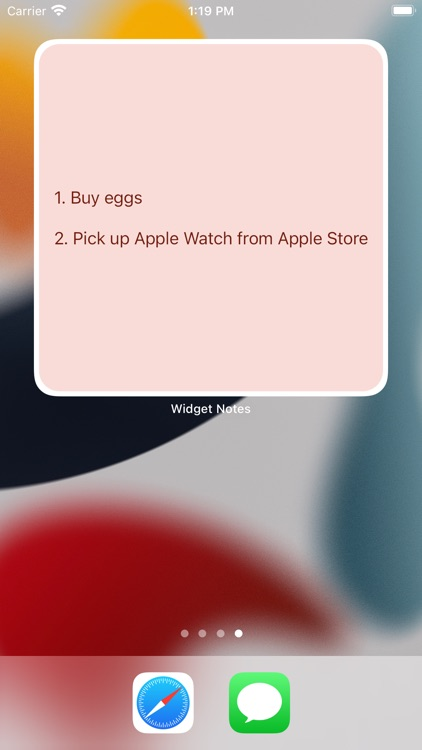 Widget Notes - Home Screen screenshot-5