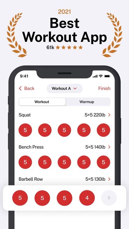 StrongLifts Weight Lifting Log screenshot-0