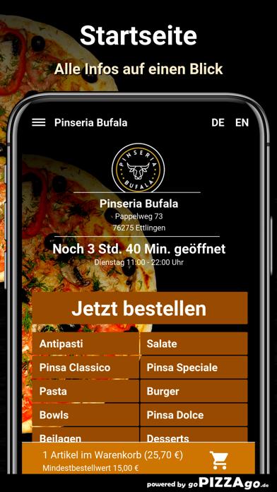 Pinseria Bufala Ettlingen screenshot 2
