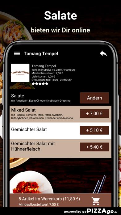 Tamang-Tempel Hamburg screenshot 5