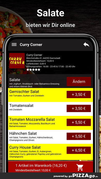 Curry Corner Darmstadt screenshot 5