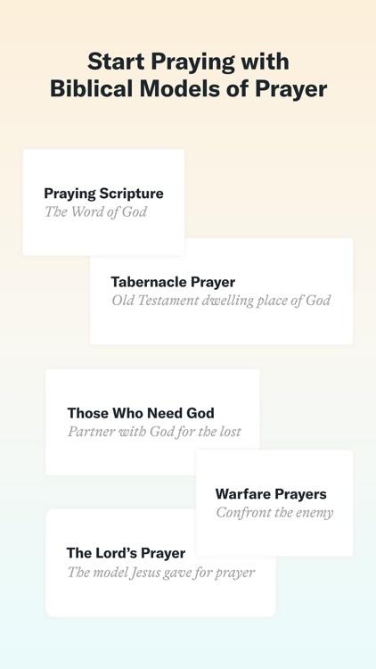 Pray First – Prayer Life Plans