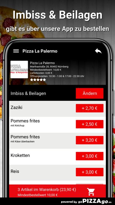 Pizza La Palermo Nürnberg screenshot 6