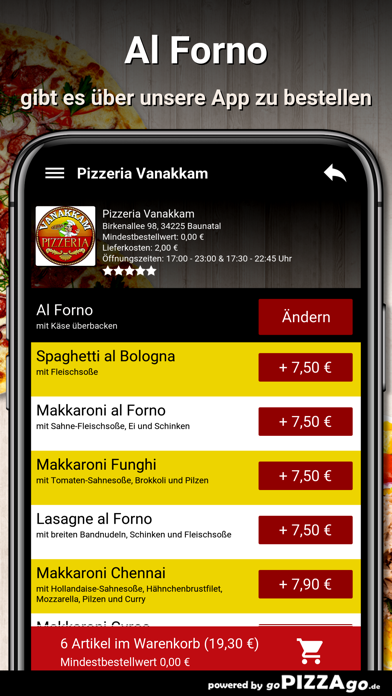 Pizzeria Vanakkam Baunatal screenshot 6