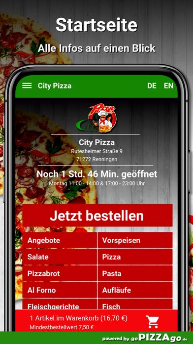 City Pizza Renningen screenshot 2